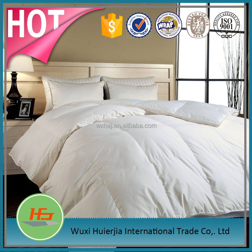 High Quality Queen Size White Quilted Bed Comforter