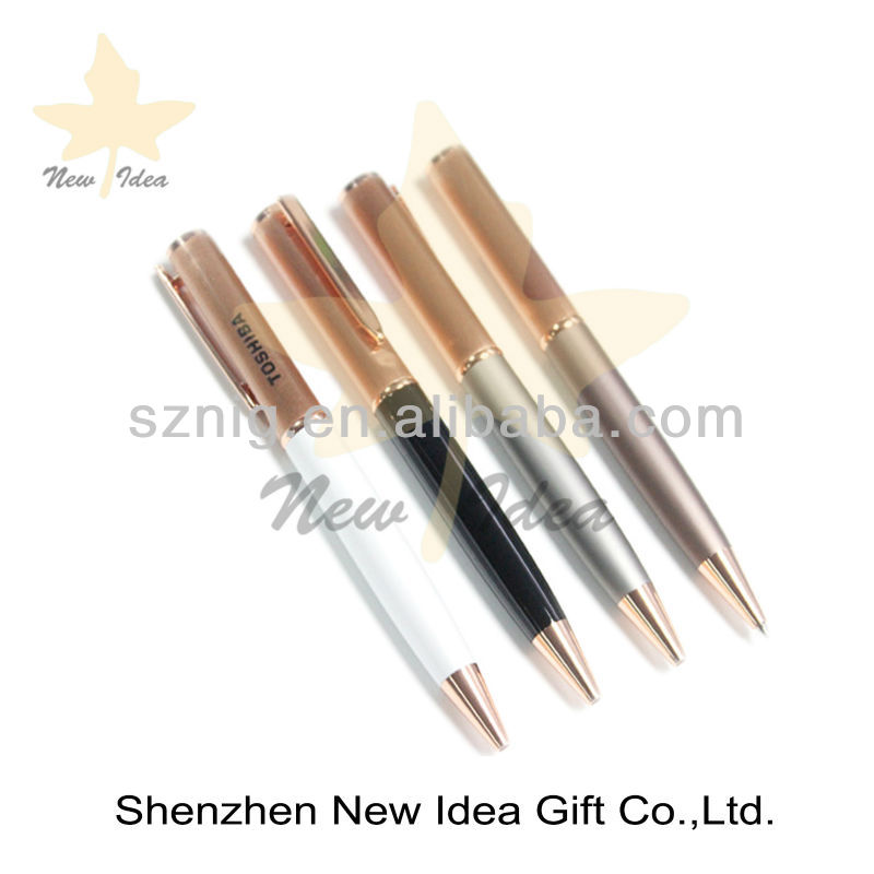promotion business gift metal custom pens