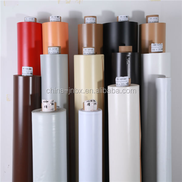 laminated color pvc sheet for furniture coating