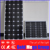 Chinese best price per watt photovoltaic 150 watt mono solar panel