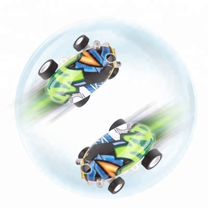 Electric micro mini 360 degree rotating laser chariot high speed toys car