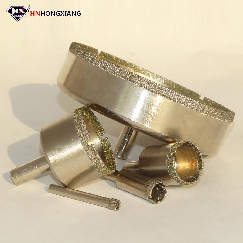 9/PCS Gerade Schaft 6/mm Diamant-Bohrer Marble Glas Lochs/äge