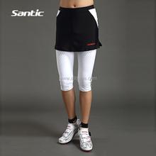 b9d722568d Santic verano nueva ciclismo shorts seis puntos culottes ciclismo  pantalones en la ropa para las mujeres