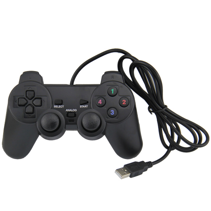 De Vídeo Game pad Joystick Pc Controlador de Jogo USB Pc Gamepad
