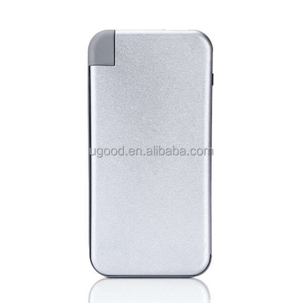 Top Selling emergency charger travelling 6000mah Pocket usb smart charger slim power bank