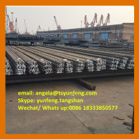 U71Mn steel rail of heavy rail and used rail R50 R65 with competitive price