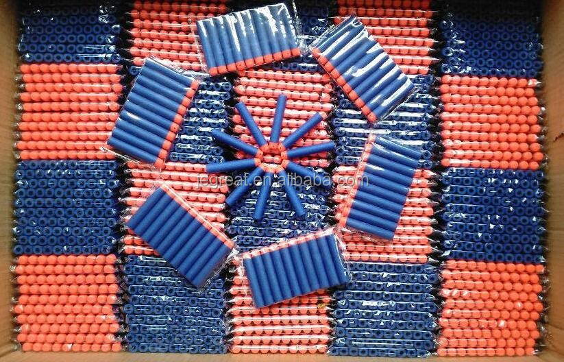 7.2*1.3cm EVA foam soft Refill darts Bullets