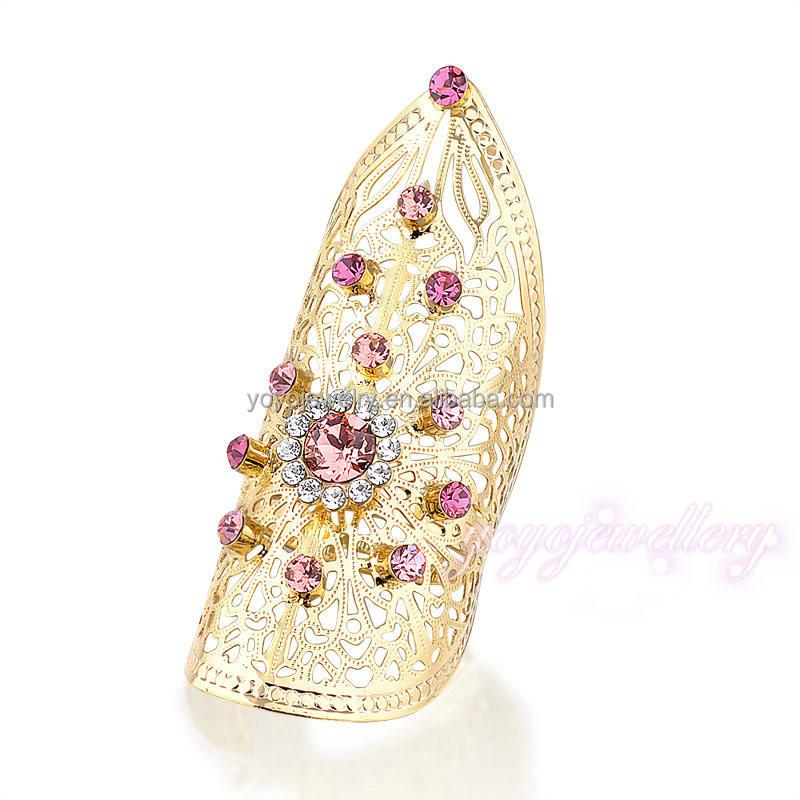 Wholesale Mew Design La s Gold Long Ring Buy Long Ring Gold