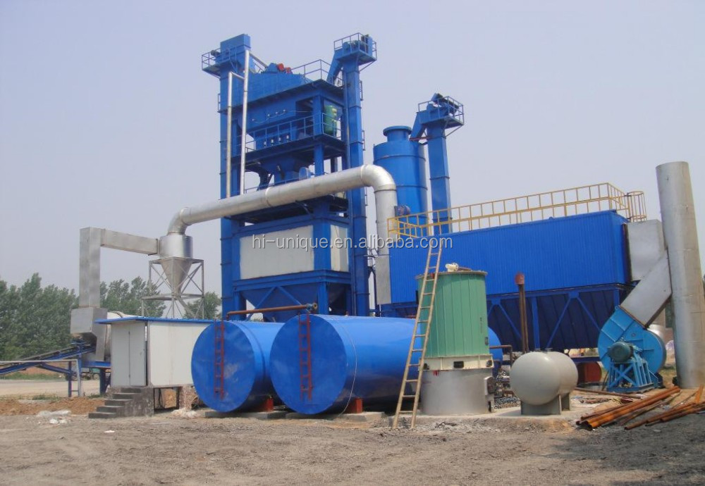 Road Machine LB2500 Hot Recycled Bitumen Asphalt Mixing Plant with 200t/h Capacity