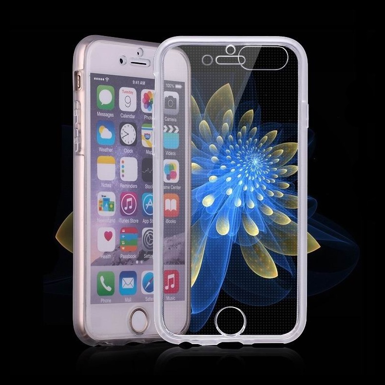 360 Degree All Wrapped Tpu Case For Iphone 6s Plus,For Iphone 6 ...