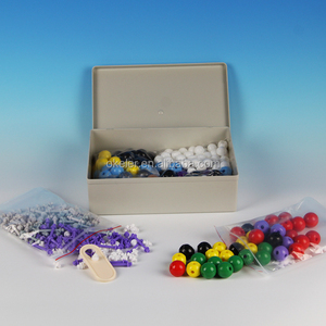 Manufacturer Complex Inorganic/Organic Chemistry Model Set (445 Pieces) For Study