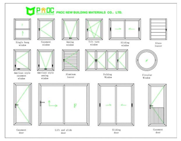 En Aluminium Fenêtres En Arcfenêtre Rondedouble Vitrage Fabriqué