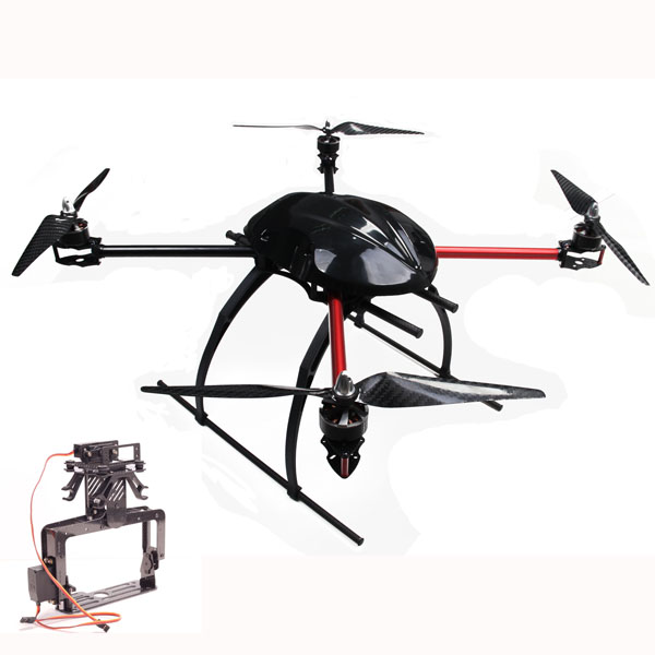 rc quadcopter folding structure high balance low vibration helicopter with camera