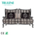 China furniture living room fabric sofa stripe fabric sofa 2-seater sofa