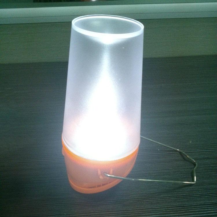 8 Led Portable Solar Led Light Tea Cup Shape Solar Hanging Lamp ...