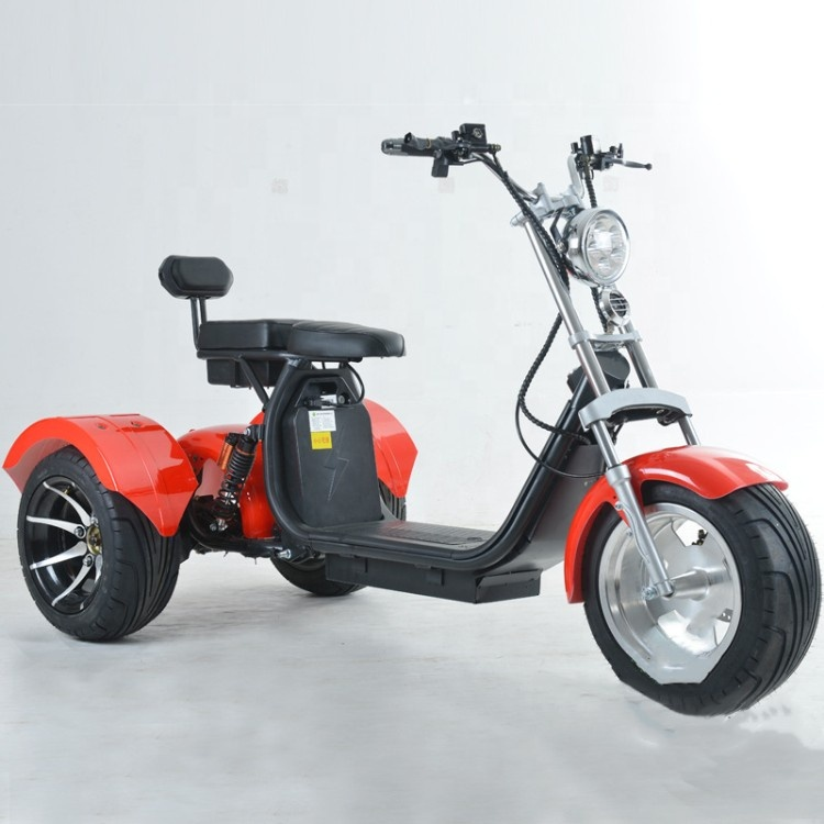 Calle adulto legal de 3 ruedas scooter Eléctrico