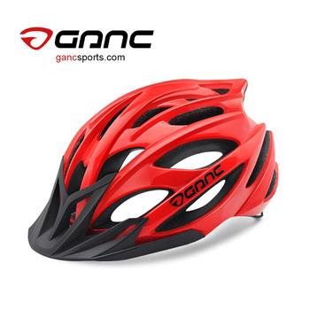 Ganc Bike Helmet With Visor Trail Bike Helmet Buy Red Bull