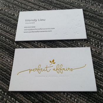 Custom gold stamping printed name cardbusiness card buy gold custom gold stamping printed name card business card reheart Choice Image