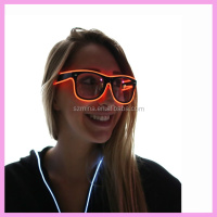 10 Colors EL Wire LED Glasses Led Party Prop Glasses Led Light Flashing Glasses For Kids