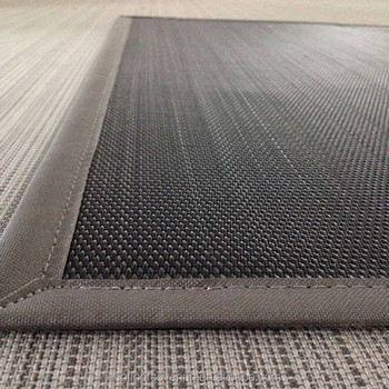 Pvc Outdoor Carpet And Rug Woven Mat With Border