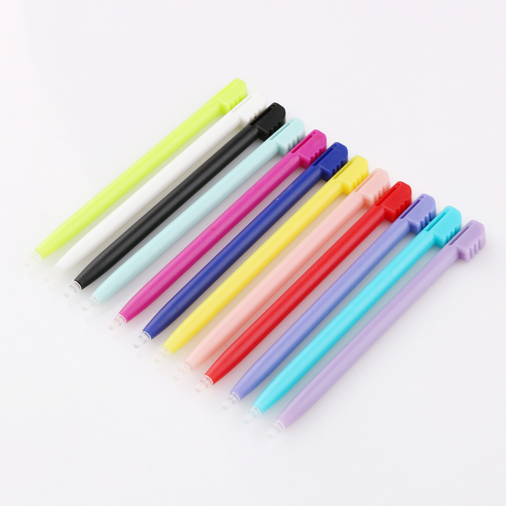 Wholesale 12pcs High Quality Plastic Touch Screen Stylus Pen for Nintendo for NDSL for 3DS XL for NDS Screen Touch Pen