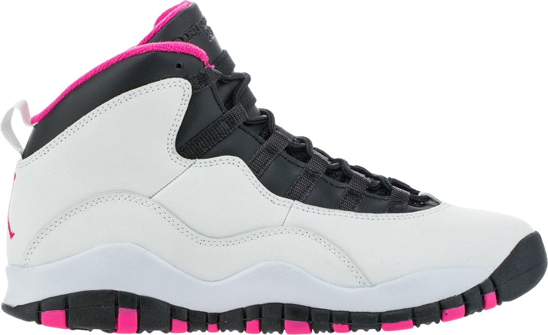 best website 94f69 92443 Get Quotations · Size 6.5Y Girls Air Jordan 10 Retro GS 487211 008