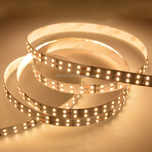 IP67 Waterproof Flexible led pixel light DC12V SMD2835 LED Tape Light White/Black PCB 5m/Roll