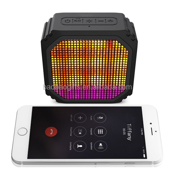 Mini LED bluetooth speaker box small portable wireless bluetooth speaker ws 887