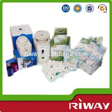 Disposable magic washcloth, nonwoven compressed washcloths