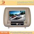 Rotatable panel 7inch Headrest DVD player with USB,SD,built in games/IR&FM transmitter.