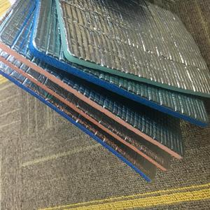 Hot sale Fireproof Coating Blue Aluminum Foil XPE Foam Insulation