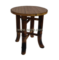Beautiful bamboo and wooden chair for garden