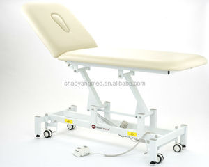 Manufacturer Hospital Equipment 2 Section HI-LOW electric lift examination couch Bed