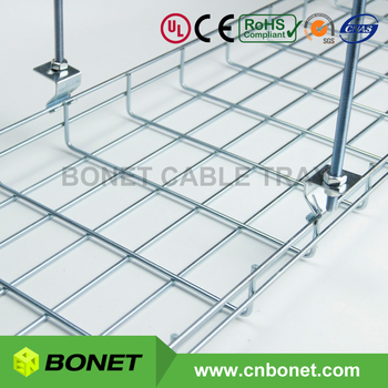 Ideal Wire Mesh Basket Cable Tray Brand China To Replace Cablofil ...