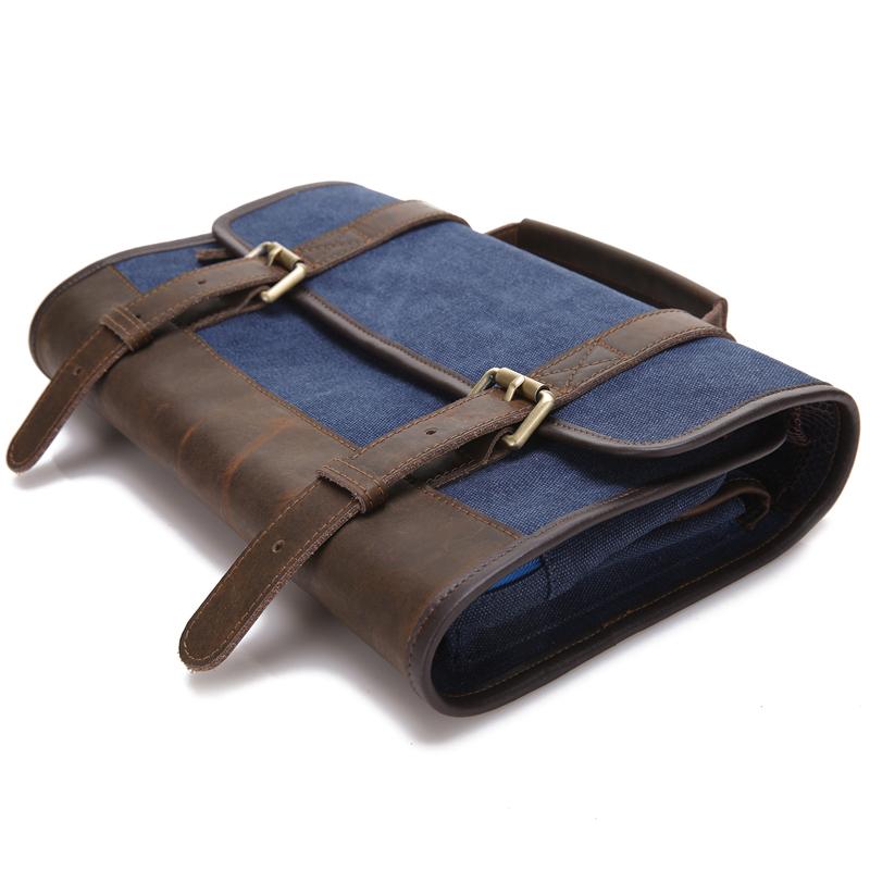 Waxed Canvas Travel Dopp Kit 73d085e6e4b1c