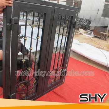 Safety Glass Front Door Wrought Iron Glass Entry Door Buy Wrought