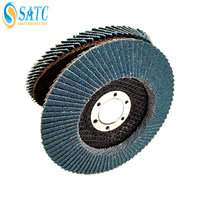 80# Zirconia Alumina High Cutting Performance Flexible Flap Discs for Stainless Steel