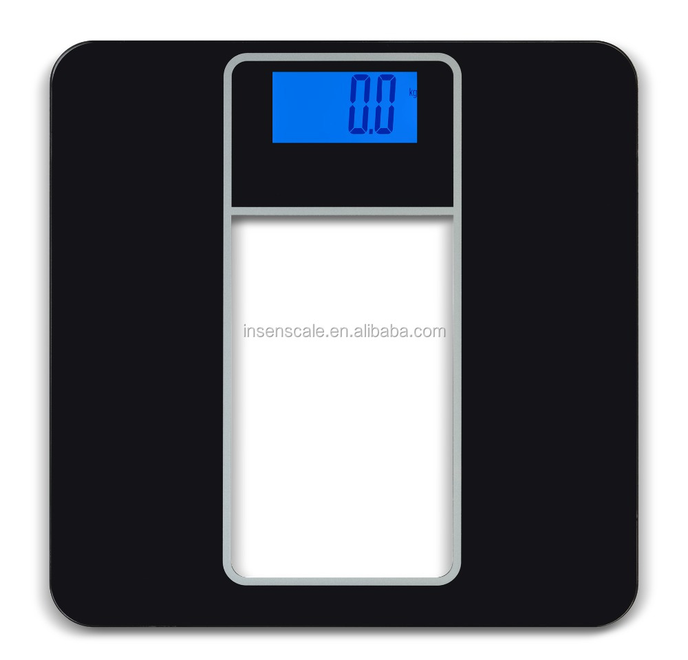 Digital bluetooth body weighting scale with ipo glass for Bluetooth kitchen scale