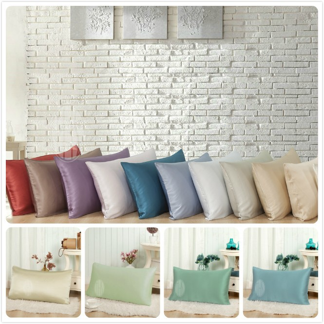 Taihu Snow lucury colourful mulberry silk pillowcase