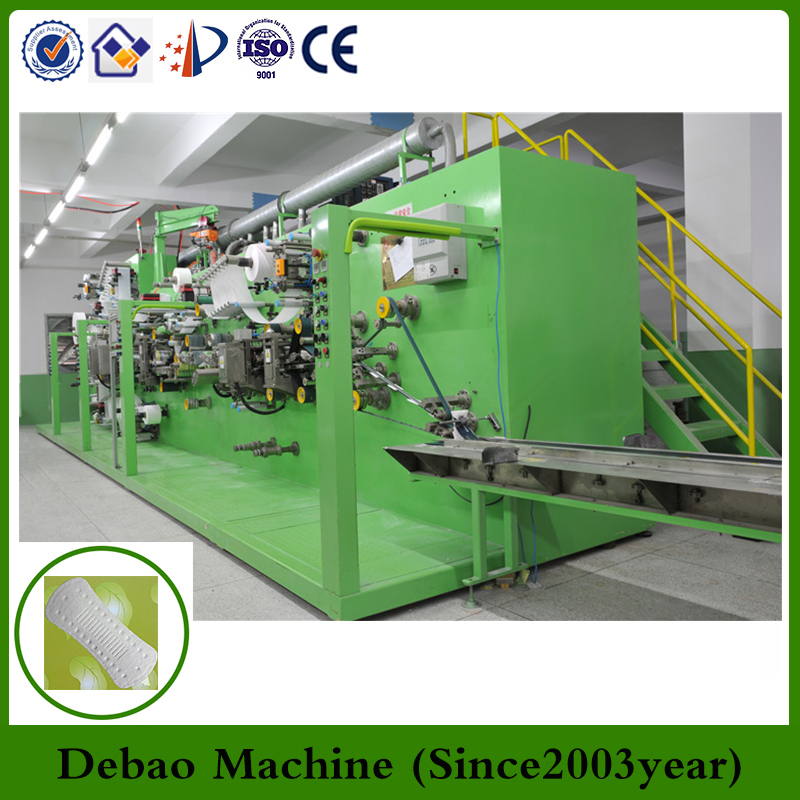Sanitary Napkin Pad Production Line Women Sanitary Napkin Pad Making Machine