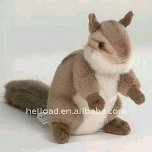 cute plush squirrel advertising plush toy for sale
