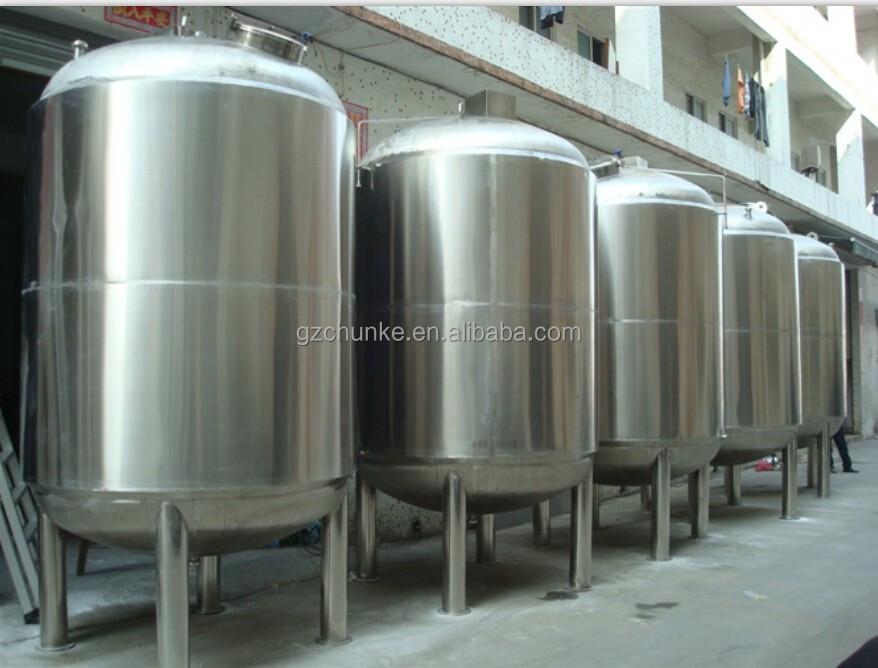 Chunke acero inoxidable de 1000 litros tanque de presi n Tanque de agua 1000 litros