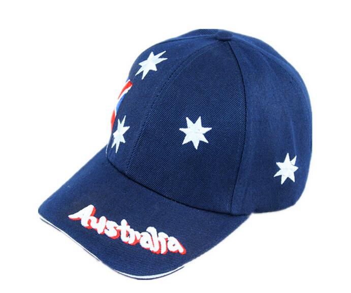 fashion design australia national flag baseball cap hats