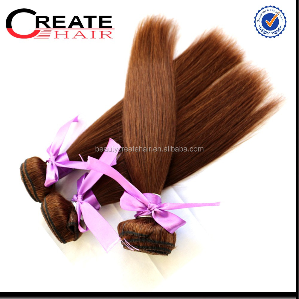 Best quality silky and shiny brazilian color 350 hair weave
