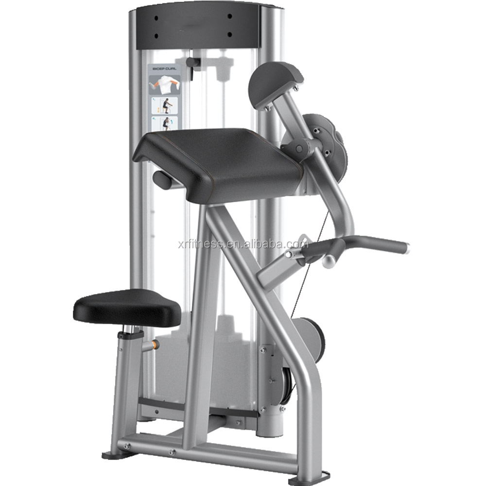 Life Fitness Gym Equipment/bicep Curl Machine/ Fitness Equipment ...