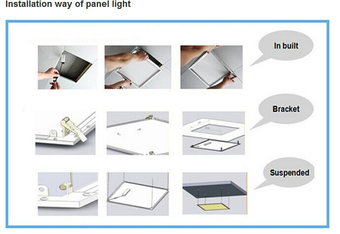 High Power 40w Ul Dlc 600mmx600mm Led Panel Light D300 Dimmable ...