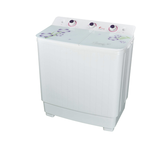 portable concise double tub Washing Machine