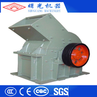 Small hammer crusher for glass recycling,big catacity