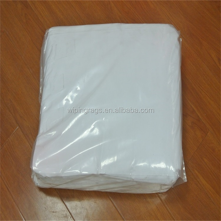 Mutilated Bed Sheets Rags White Cotton Wiping Rags