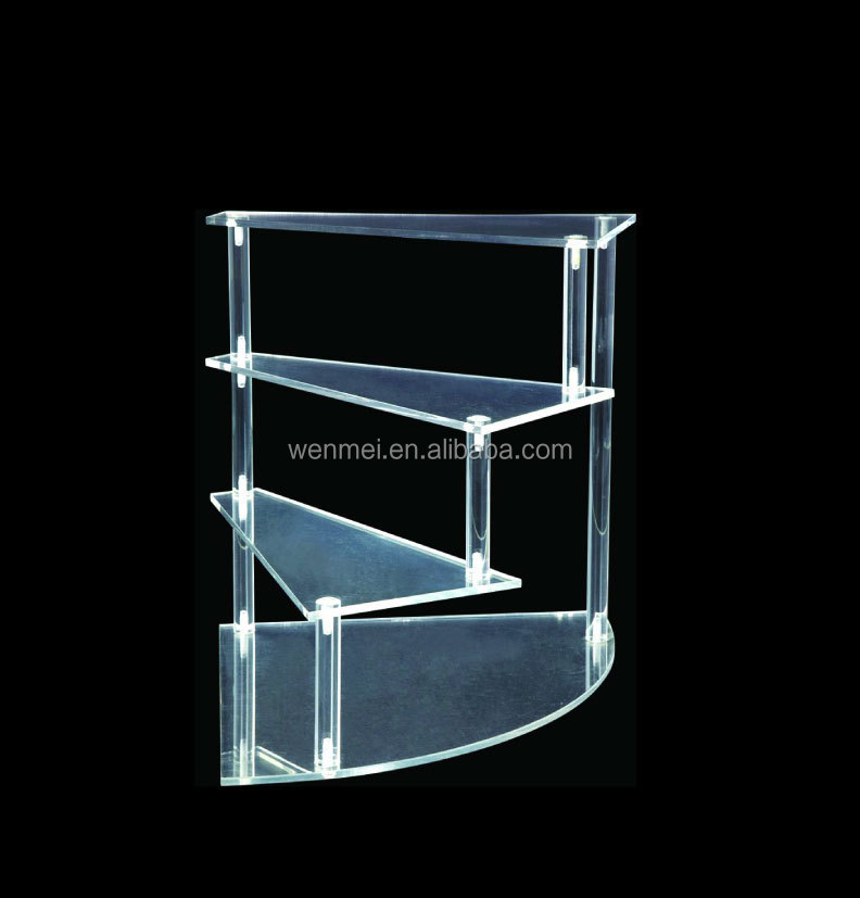 Cuctom Design acrylic shoe stand, acrylic steps shoe holder